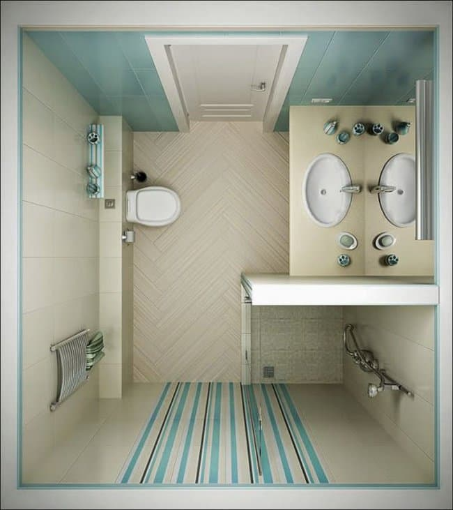 ideas-for-small-bathrooms small shower