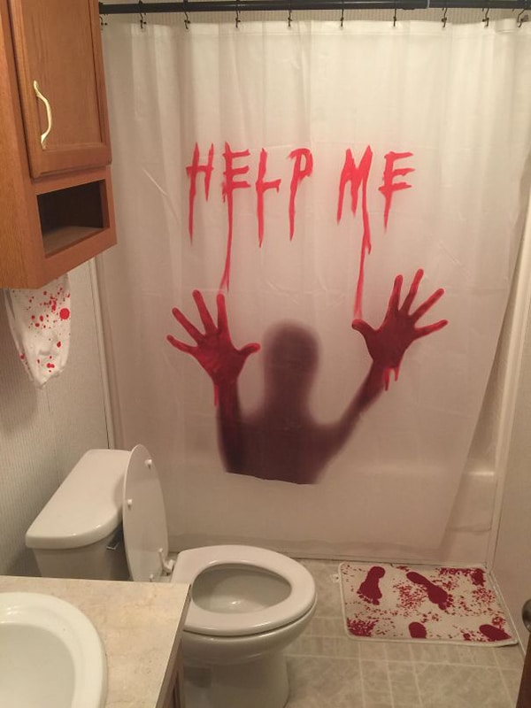 scary bathroom decor Why Being Married Is The Best