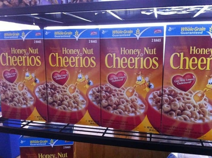things you never noticed honey nut cheerio boxes