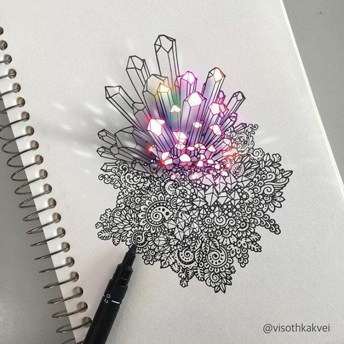 visoth kakvei doodles crystal gems