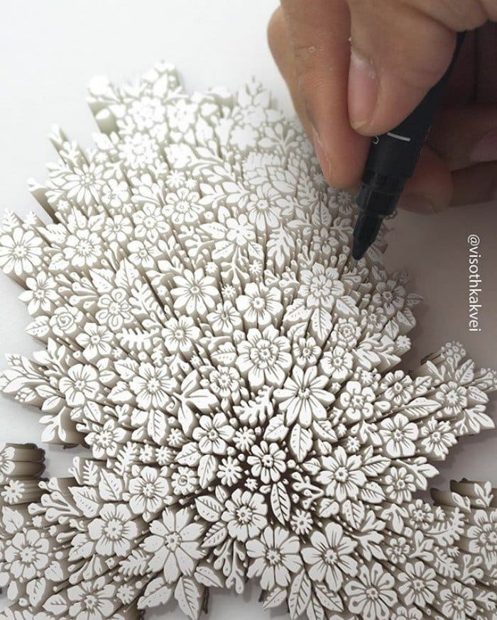 visoth kakvei doodles flowers