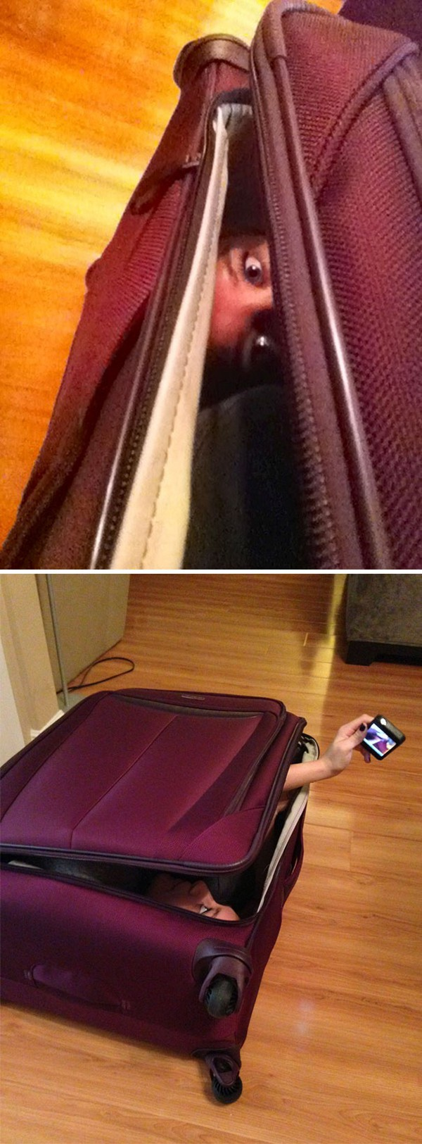 woman in suitcase Why Being Married Is The Best
