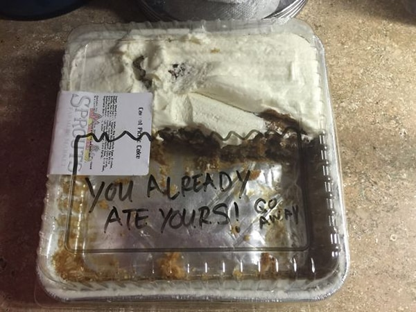 you already ate yours Why Being Married Is The Best