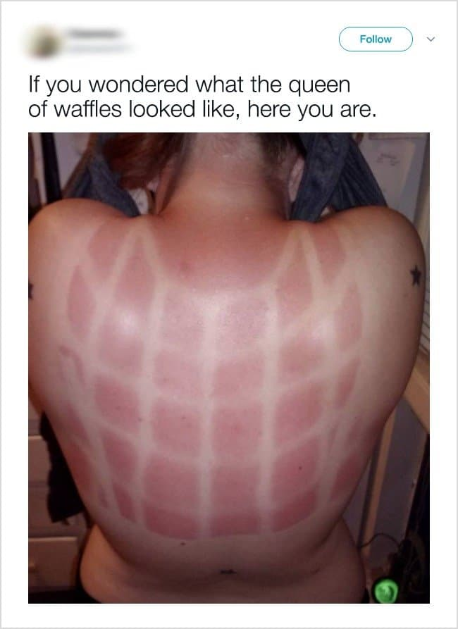 Annoying Things Girls Experience During Hot Weather queen of waffles