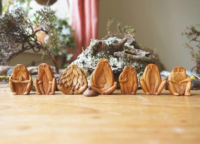 Artist Carves Avocado Pits group photo