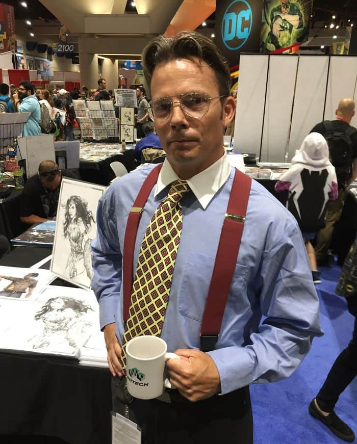 Best Cosplays From San Diego Comic Con bill lumbergh office space