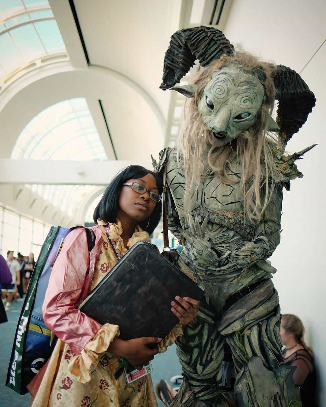 Best Cosplays From San Diego Comic Con faun pans labryinth