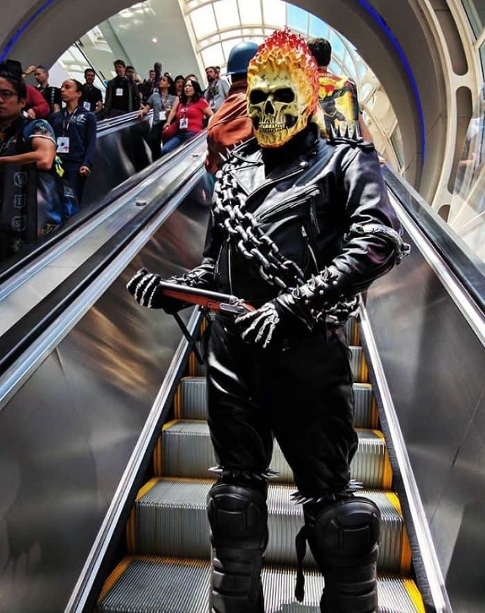 Best Cosplays From San Diego Comic Con ghost rider