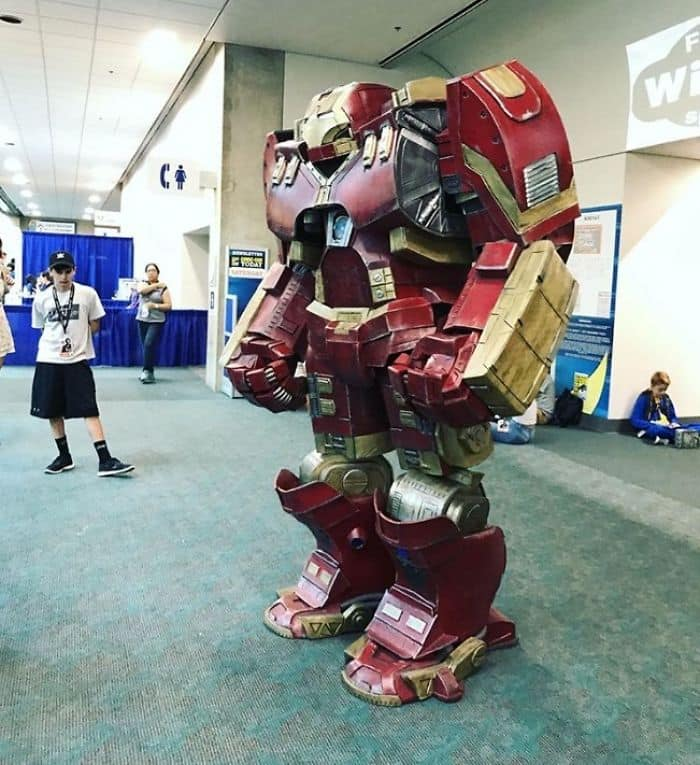 Best Cosplays From San Diego Comic Con hulk buster iron man