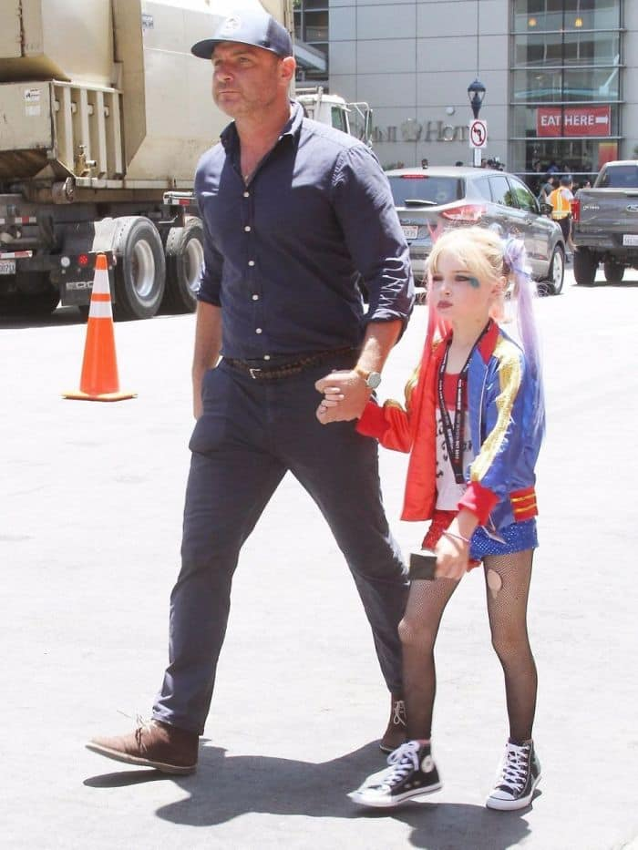 Best Cosplays From San Diego Comic Con liev schreiber son