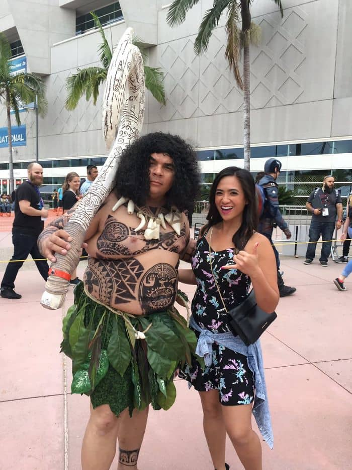 Best Cosplays From San Diego Comic Con maui moana