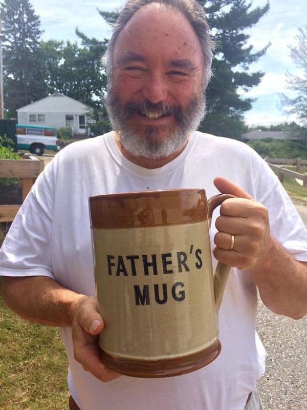 Best Things In Thrift Stores fathers mug