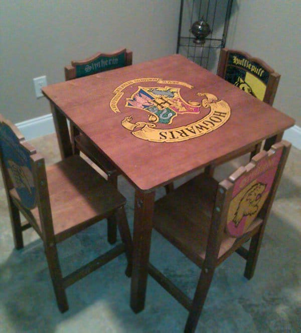 Best Things In Thrift Stores harry potter table