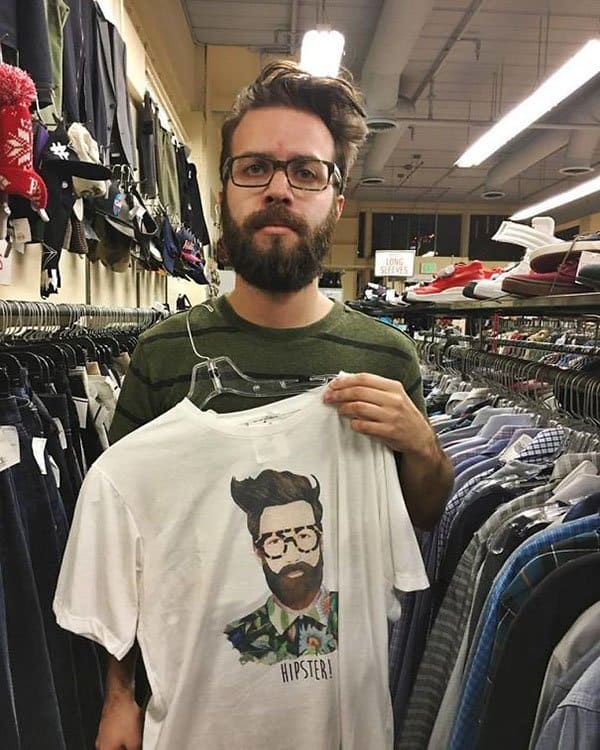 Best Things In Thrift Stores hipster t shirt