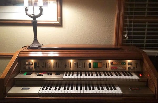 Best Things In Thrift Stores wurlitzer organ 50 cents