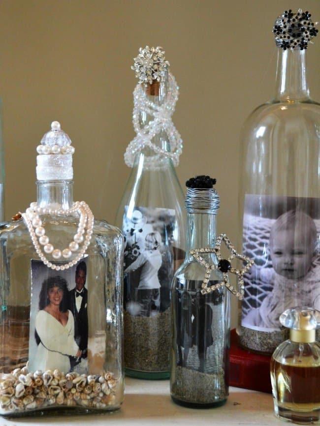 Bottle Project Ideas picture frames