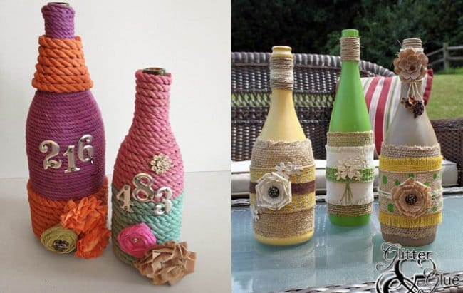 Bottle Project Ideas vasess