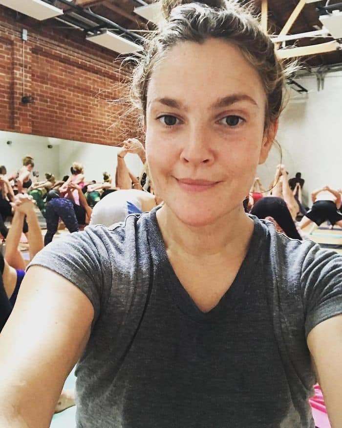 Celebrities Without Make Up drew barrymore