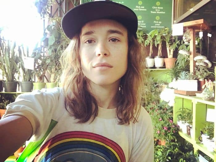 Celebrities Without Make Up ellen page
