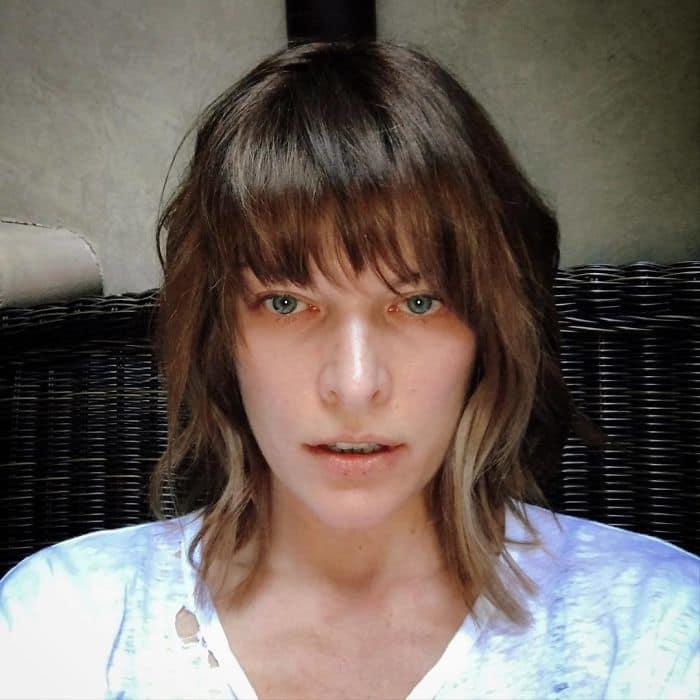 Celebrities Without Make Up milla jovovich