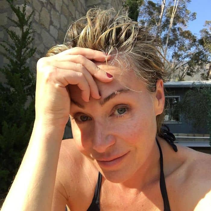 Celebrities Without Make Up portia de rossi