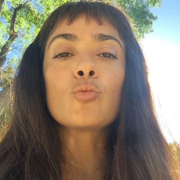 Celebrities Without Make Up salma hayek
