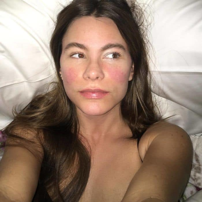 Celebrities Without Make Up sofia vergara