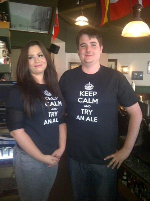 Clothing Disasters keep calm and try anal