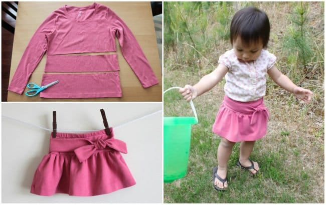 Clothing Ideas For Kids bow skirt