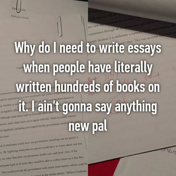 College Student Things essays