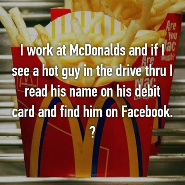Confessions From Fast Food Workers debit card