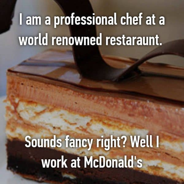 Confessions From Fast Food Workers sounds fancy