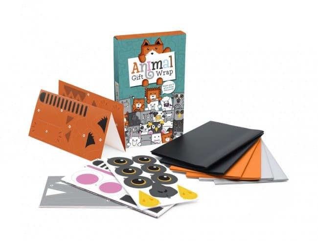Cool Packaging Designs animal gift wrap