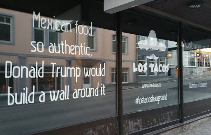 Genius Bars And Restaurants authentic mexican food trump