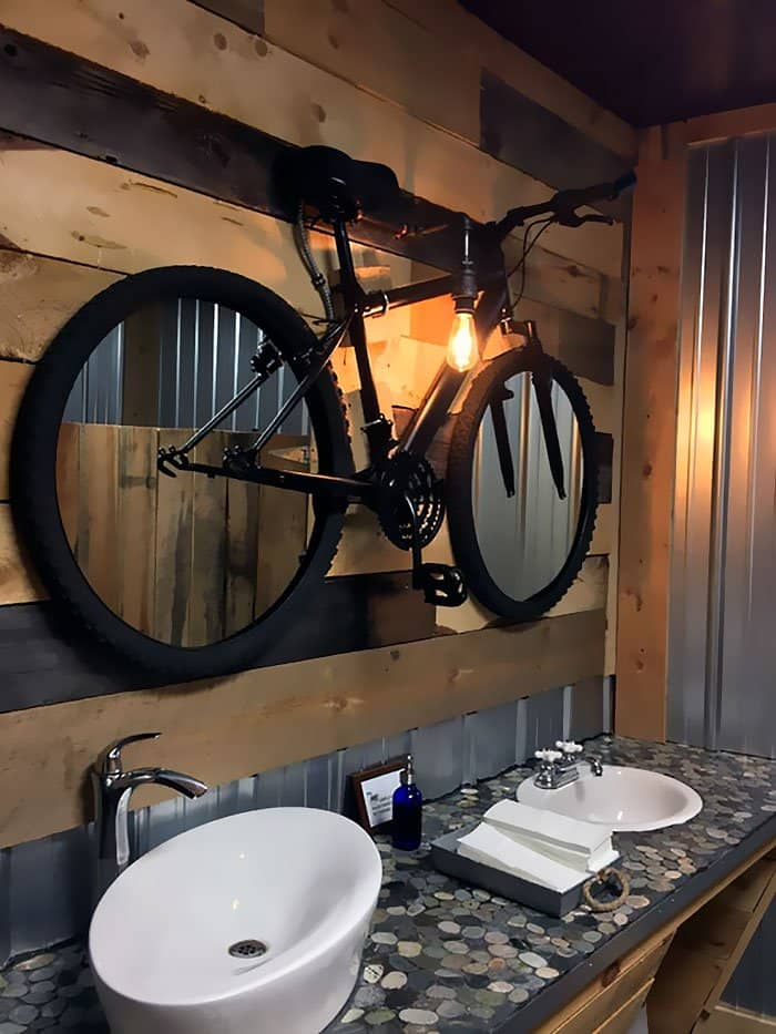 Genius Bars And Restaurants bike mirror