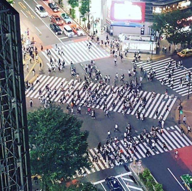 Genius Japanese Inventions diagonal crossings