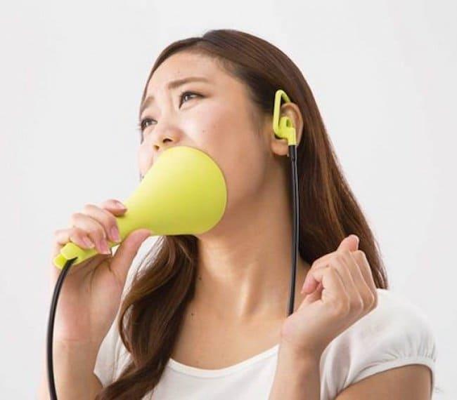 Genius Japanese Inventions silent karaoke