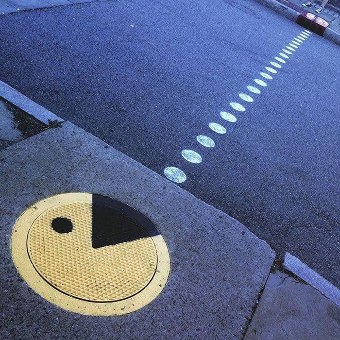 Genius Street Artist pacman