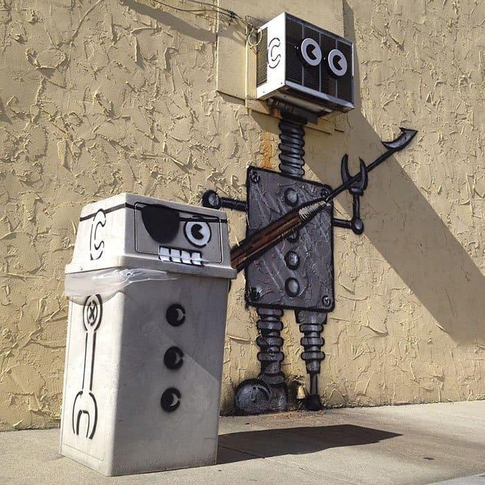 Genius Street Artist robots