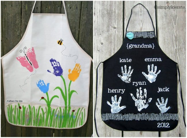Hand Made Things You Can Create With Your Kids aprons