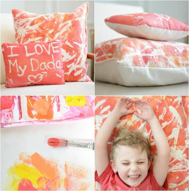 Hand Made Things You Can Create With Your Kids cushions