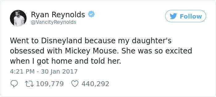 Hilarious Parenting Tweets went to disneyland