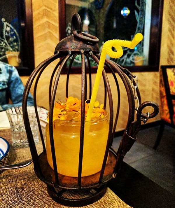 Hipster Restaurants Went Too Far With Food Serving cocktail in a cage
