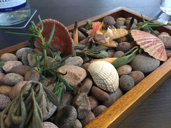 Hipster Restaurants Went Too Far With Food Serving food served on pebbles