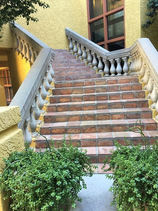 Hotel Fails staircase to no where