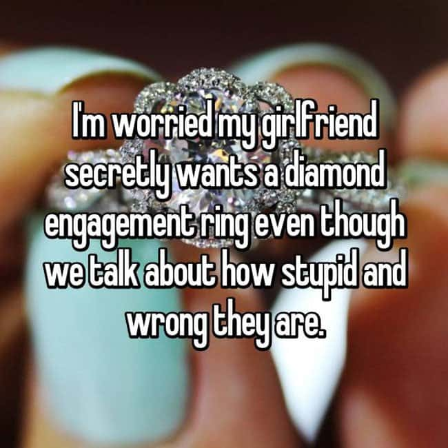 How Men Really Feel About Buying Engagement Rings im worried