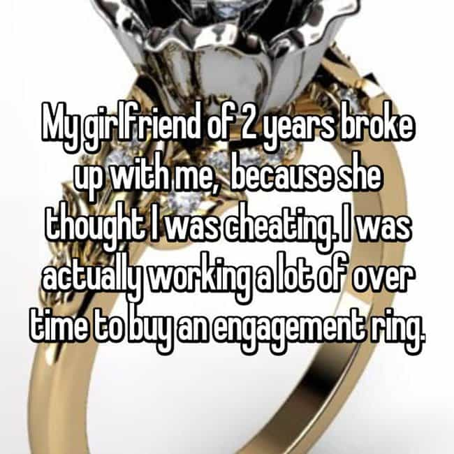 How Men Really Feel About Buying Engagement Rings over time