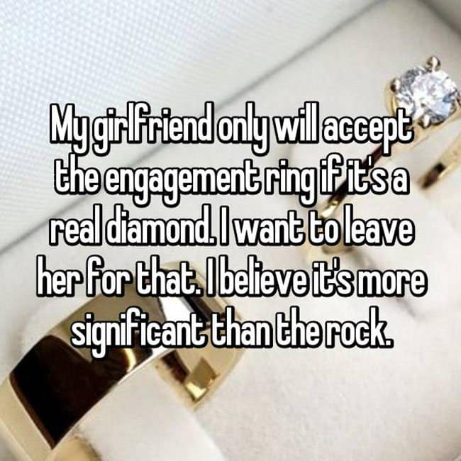 How Men Really Feel About Buying Engagement Rings real diamond
