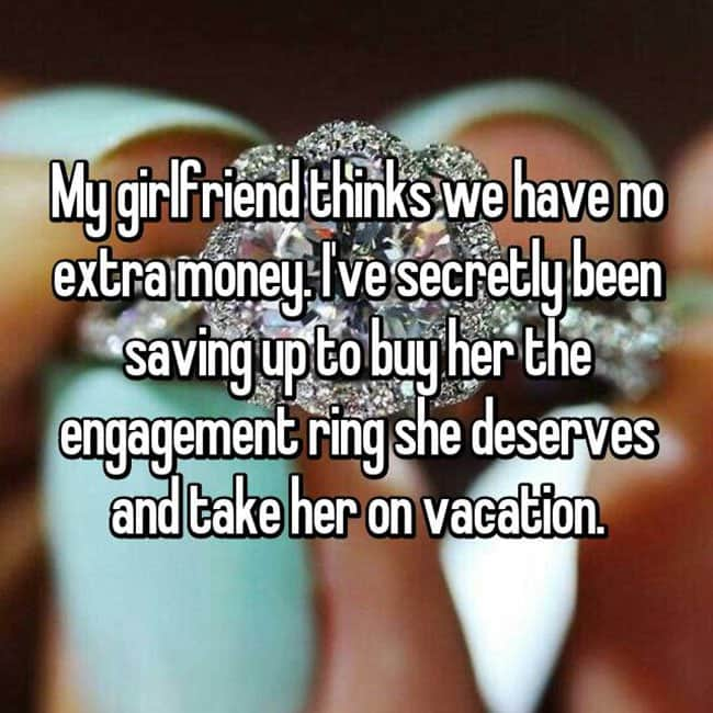 How Men Really Feel About Buying Engagement Rings vacation
