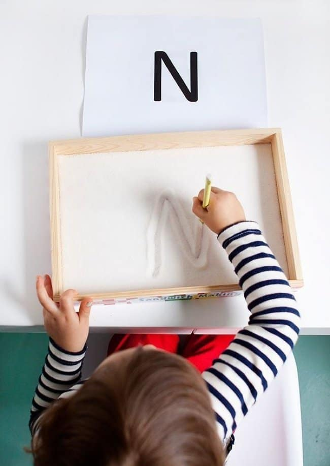 How To Keep Kids Entertained sand box drawing
